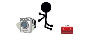 Wasmachine verstopping RSL